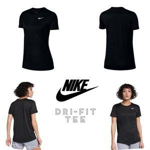 Nike Black Dri-Fit Cotton Tee T-Shirt Size 1X Plus